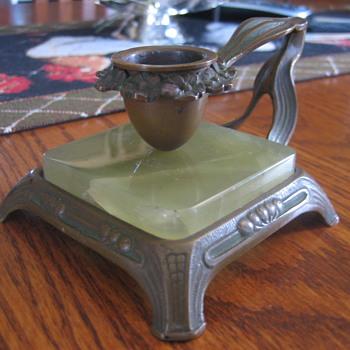 Art Nouveau Chamberstick maker? - Art Nouveau