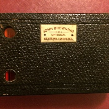 John Browning kodak camera