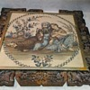 ANTIQUE MIDDLE EASTERN PAINTING ON CLOTH