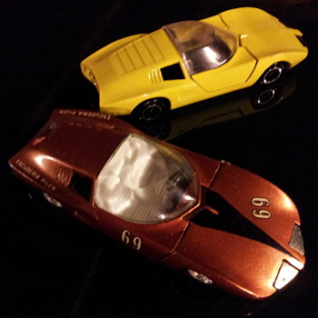Pilen m301 Corvair Monza GT   - Model Cars