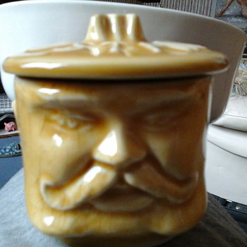 old head mustard pot!!