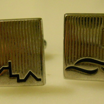 50s Novelty Cuff Links   - Accessories