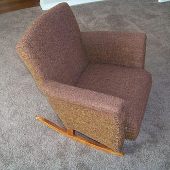 Child's Rocking Chair (Upholstered)