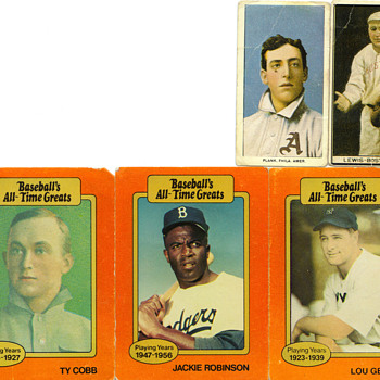 Old baseball cards - Baseball