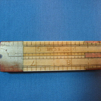 No. 39 Four Fold Caliper Ruler