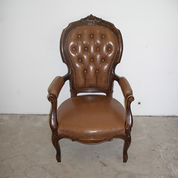 Leather armchair - Furniture