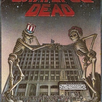 Postcard of Grateful Dead's 15-night run at the Warfield
