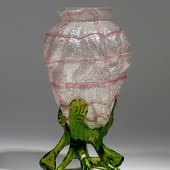 Kralik Meteor Vase - Art Glass
