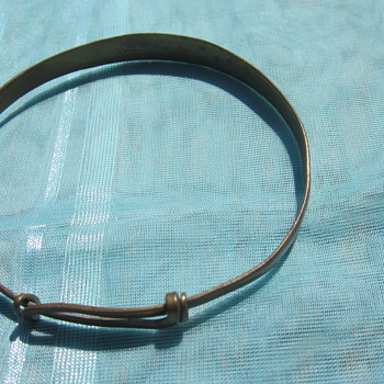 Old Silver Braclet - Costume Jewelry