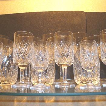 """Orrefors Crystal - """"Festival"""" - Glassware"""