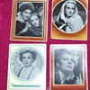 1930&#039;s Collector Cards:  Shirley Temple, Marlene Dietrich...