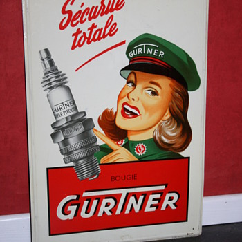 Gurtner sign - Advertising