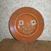 Traditional Bulgarian ceramic plate.