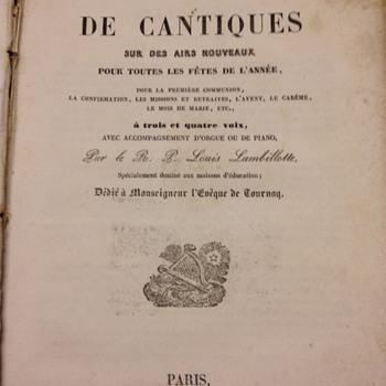 Choix DeCantiques Book
