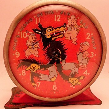 Ingersoll Three Little Pigs Alarm Clock - Clocks