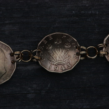 WWII POW made Bracelet (with modern alterations) - Military and Wartime