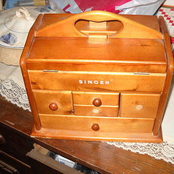 Singer Sewing Box - Sewing