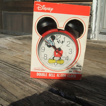 Sunbeam Dual-Bell Mickey Alarm