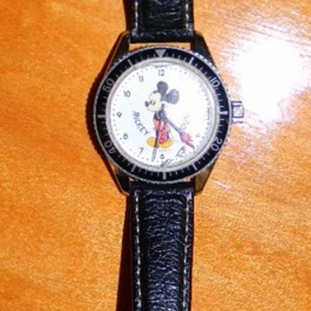 Micky Mouse 17 jewel Swill made watch - WHO MADE?