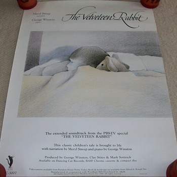The Velveteen Rabbit Promotional Poster - Posters and Prints