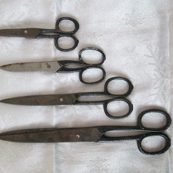 Old scissors - Sewing