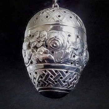 Silver Tea Ball Infuser My new weekend find. - Sterling Silver
