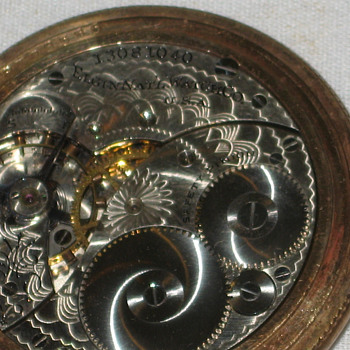 Elgin Pocket Watch Antique in Hunter Case