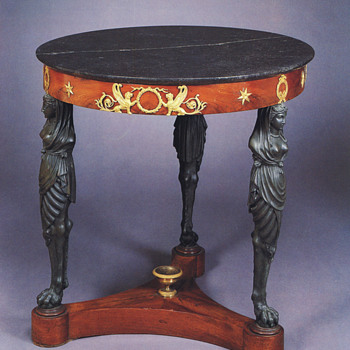 Table (Gueridon) by Bernard Molitor