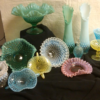 more stunning fenton hobnail items
