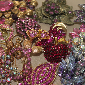 Pretty in Pink - Costume Jewelry