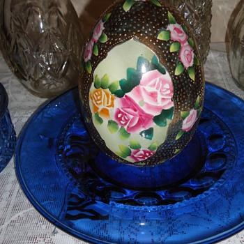 Nippon Hand Painted Egg