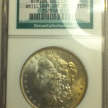 1884 New Orleans Morgan Dollar