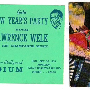 New Years 1974 / 1975 - Music