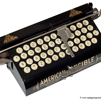 American Visible typewriter - 1901