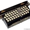 American Visible typewriter - 1901