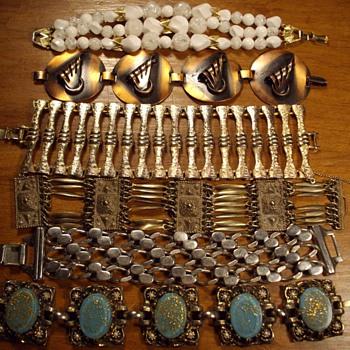 Link Bracelets.