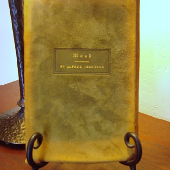 Roycroft hand made & illuminated book