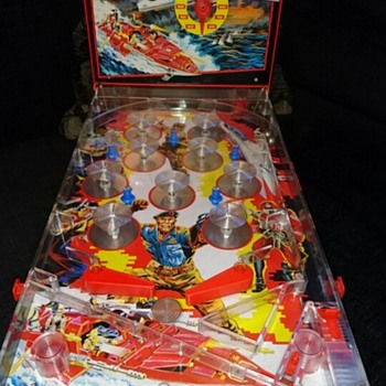 GI Joe Table Pinball Machine - Date & Maker? - Toys