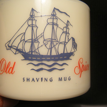 Old Spice shaving mug