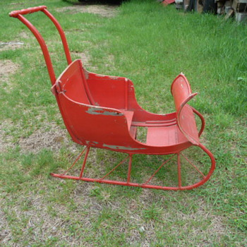 Childs sleigh - Sporting Goods