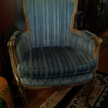 Pair French Style Chairs - Furniture