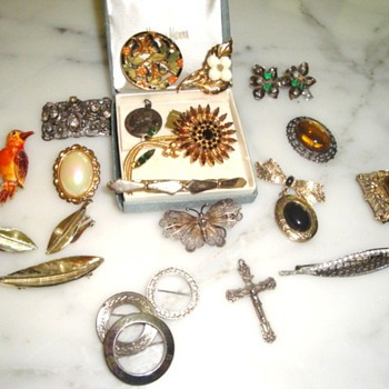 My Grandmothers costume jewelry - Costume Jewelry