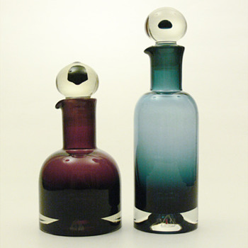 REX decanters, Nanny Still (Riihimen, 1965)