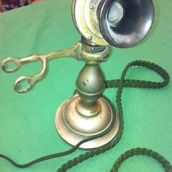 American Electric Potbelly Candlestick - Telephones