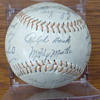 1962 New York Yankees signed baseball