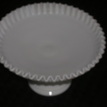 Is this item real milkglass/Fenton?