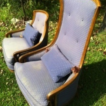 Can you identify these chairs?any info would help. - Furniture