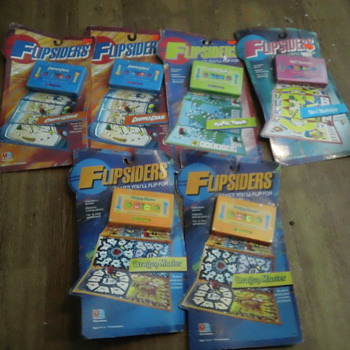 MB 1987 FLIPSIDERS GAMES SEAL AND MINT - Games