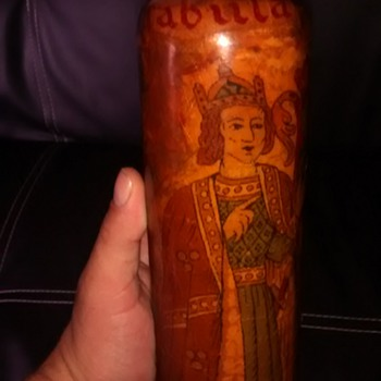 PLEASE HELP ME IDENTIFY THIS BOTTLE - Art Glass