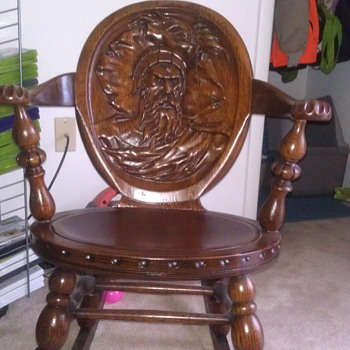 my antique rocking chair - Furniture